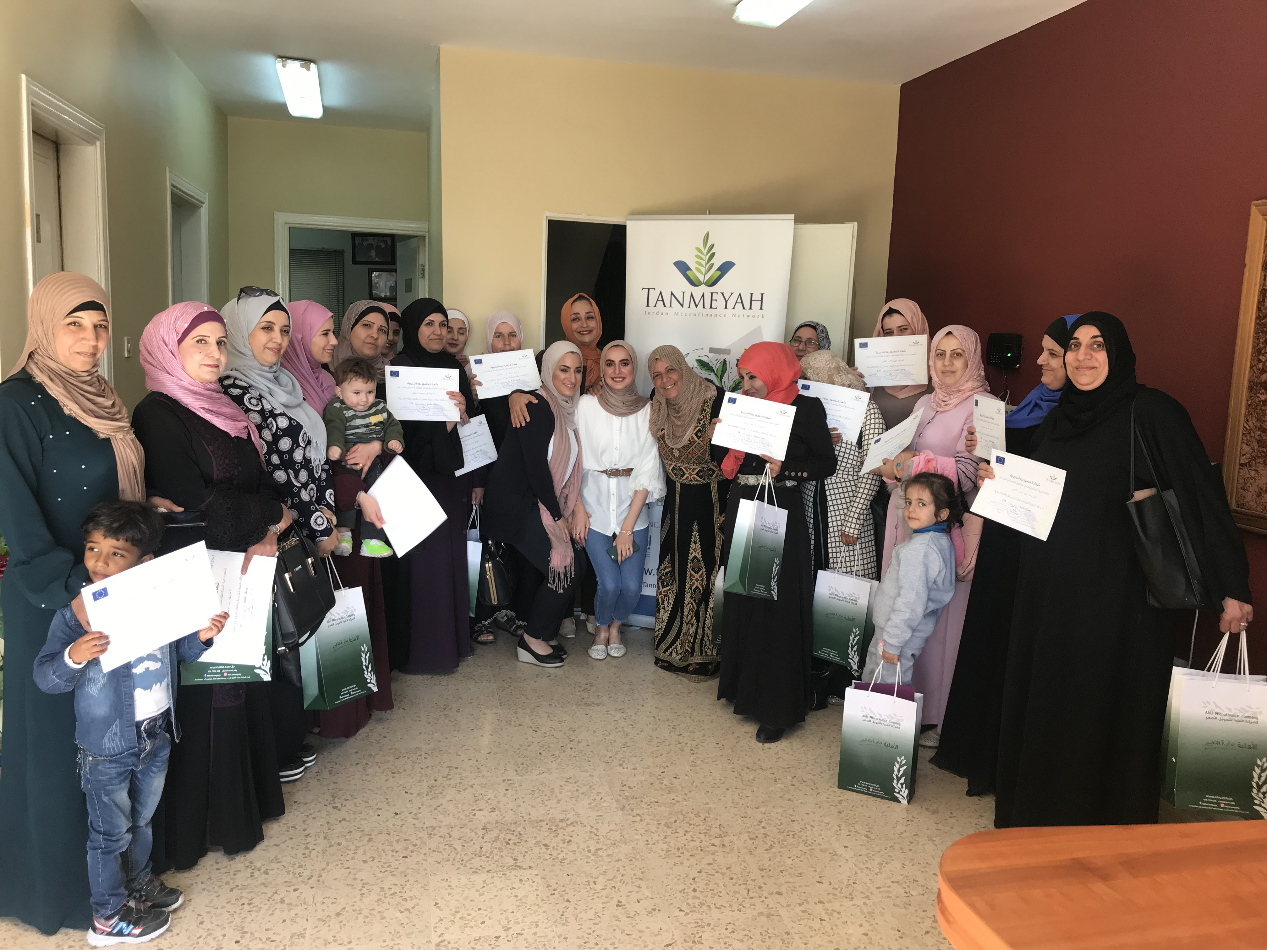 Tanmeyah held awareness sessions for the microfinance sector clients