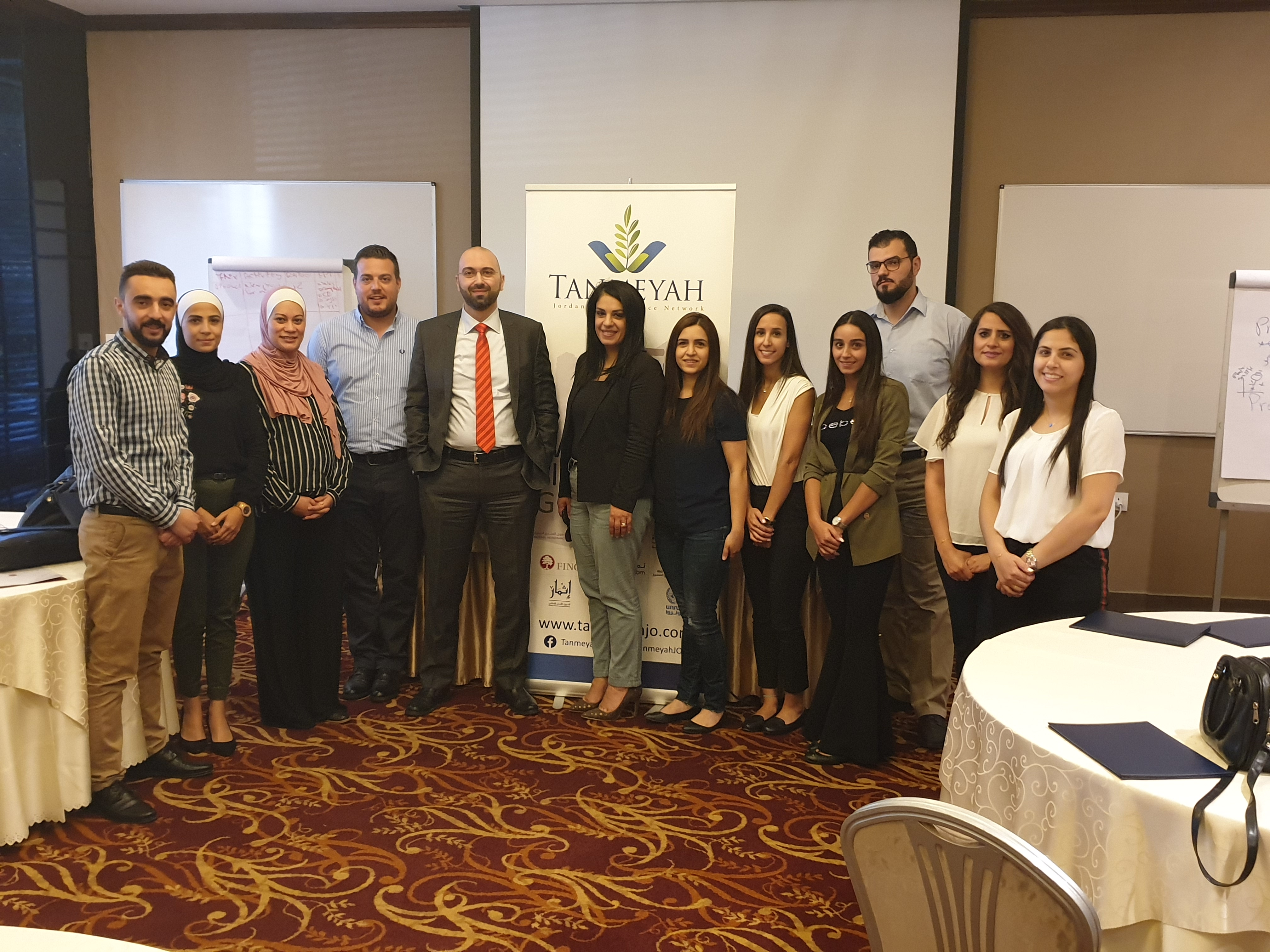 "Tanmeyah held a ""Basic and Advanced Marketing & Communication"" Training supported by EU"